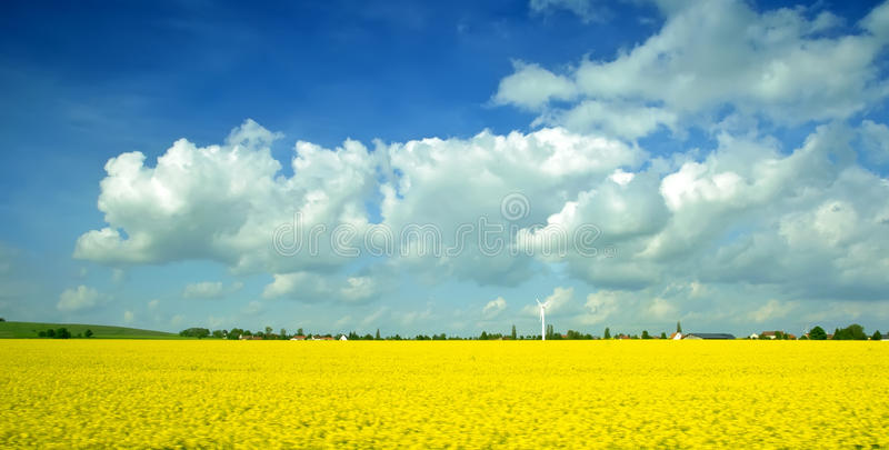 Download Spring landscape stock image. Image of background, countryside - 17709471