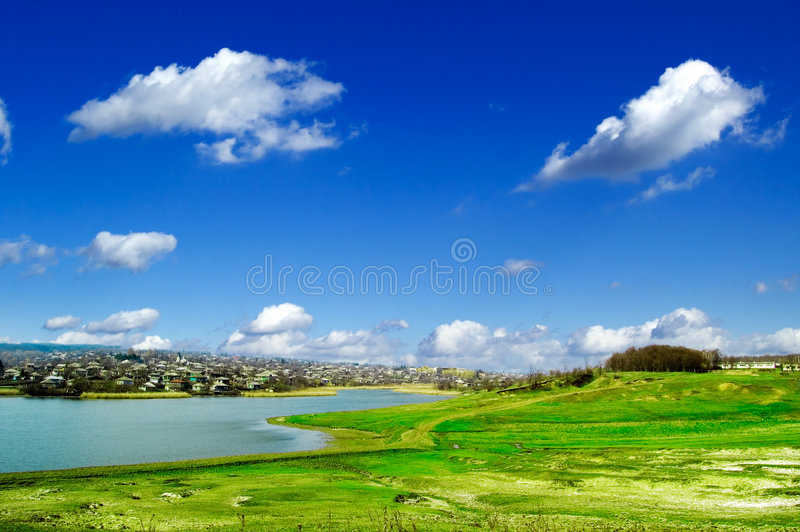 Download The Spring Landscape. Royalty Free Stock Photos - Image: 2245138