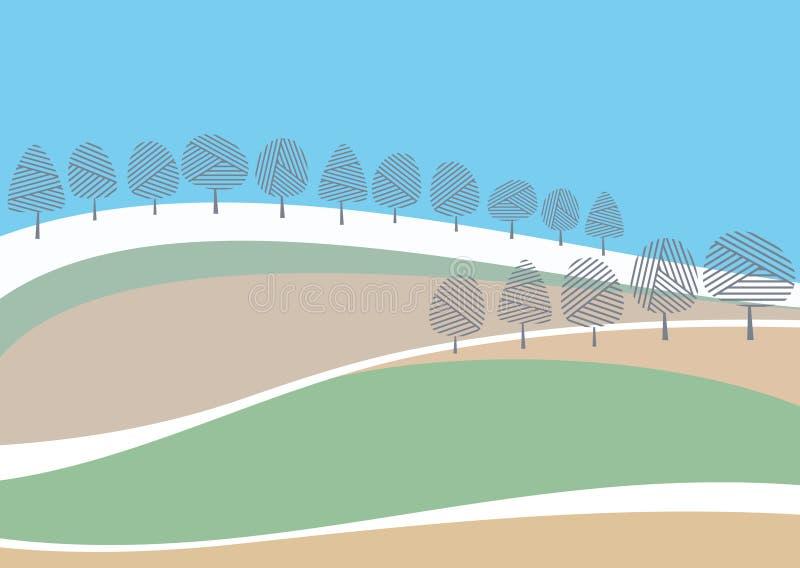 Download Spring landscape stock vector. Image of backgrounds, shape - 8674695