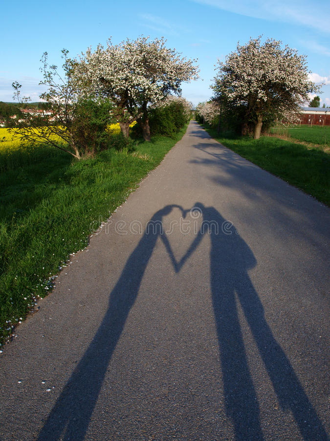 Spring love stock photography