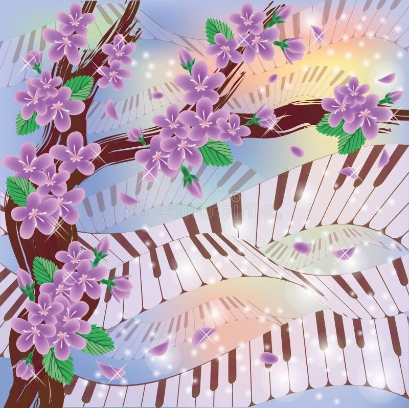 Spring Melody card