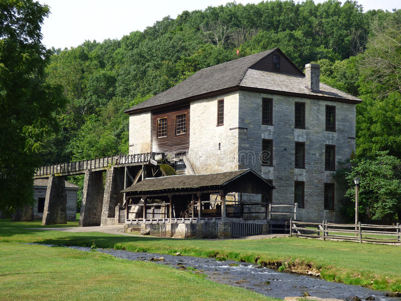 Spring Mill, Mitchell, IN royalty free stock images
