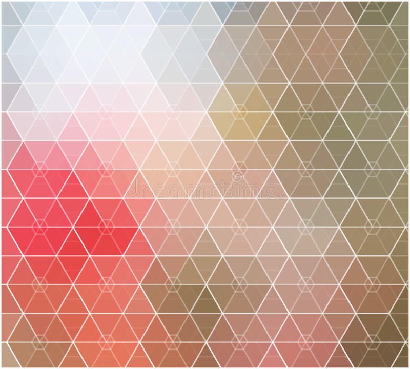Spring mosaic color background royalty free illustration