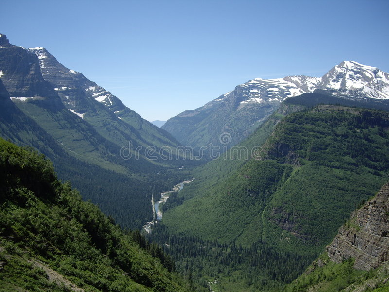 Spring Mountains royalty free stock image