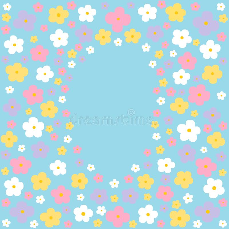Spring Pastel Background stock photo