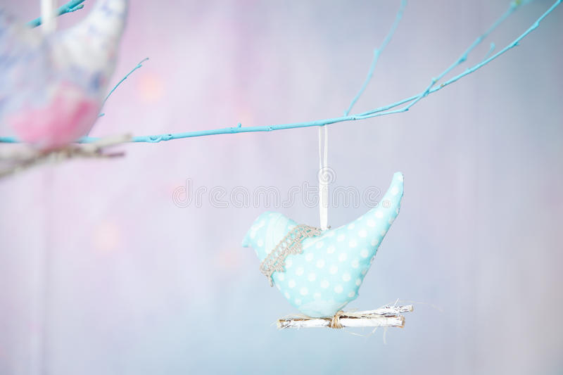 Spring pastel decor royalty free stock photos