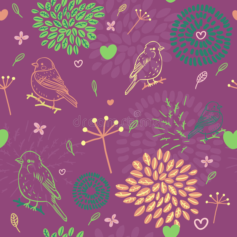 Download Spring pattern stock vector. Illustration of decorative - 8500918