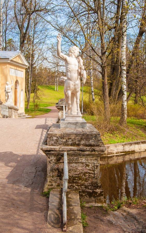 Spring in Pavlovsk park stock images
