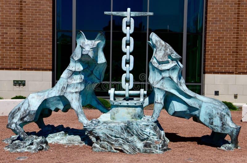 Los Lobos de Loyola stock photos