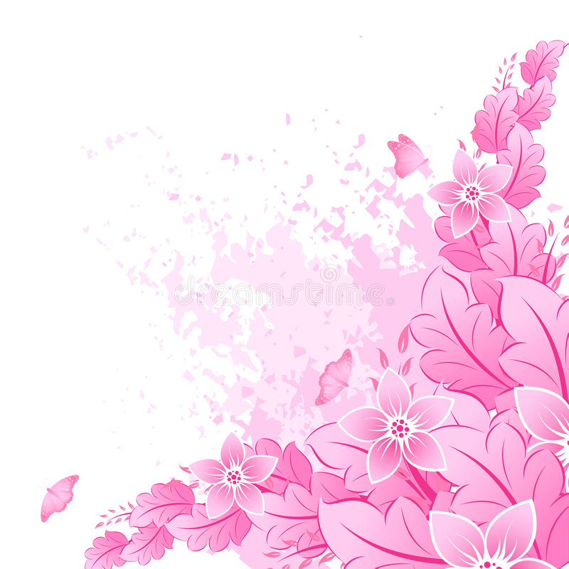 Spring in pink stock photo