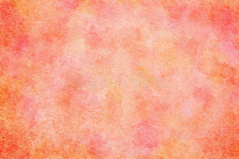 Spring pink colored watercolor paint texture or vintage canvas background. Natural spring pink colored watercolor paint texture or vintage canvas background stock illustration