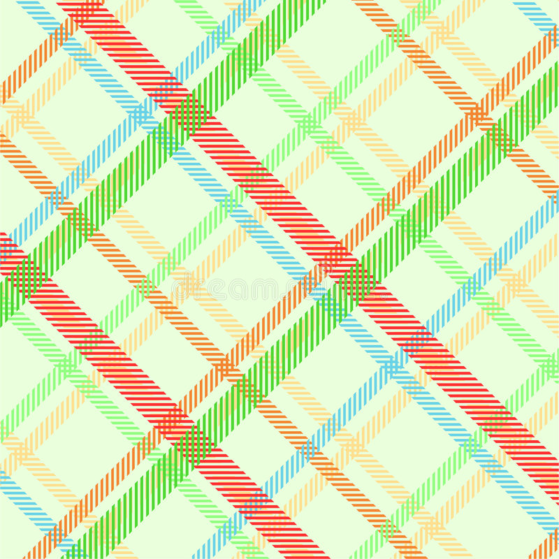 Spring plaid texture royalty free illustration
