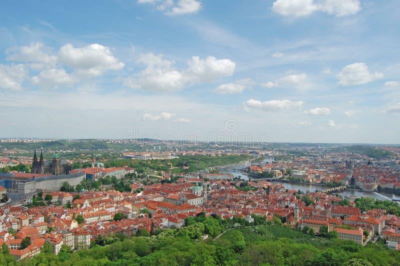 Spring in Prague. Czech republic. Beroun Hill. royalty free stock photography