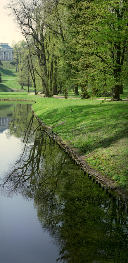 Download Spring reflections. stock image. Image of blue, reflection - 28914553