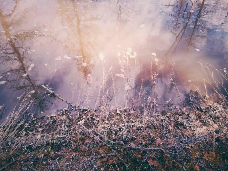 Spring River stock photo
