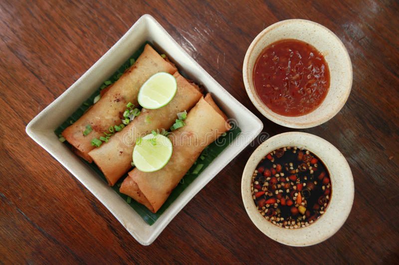 Download Spring roll stock photo. Image of cook, high, chili, gourmet - 13012990