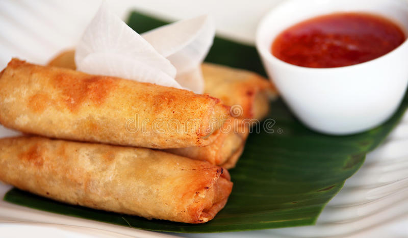 Download Spring roll asian food stock photo. Image of food, spring - 15391580