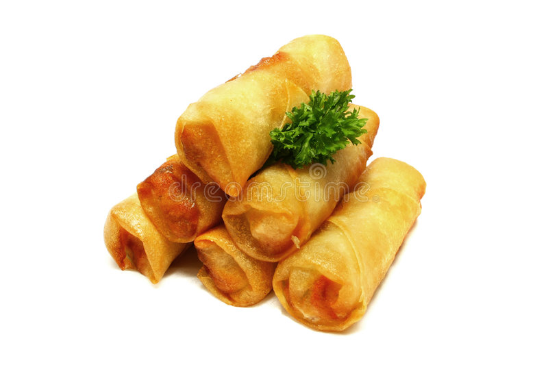 Download Spring Rolls Stock Photos - Image: 5160403