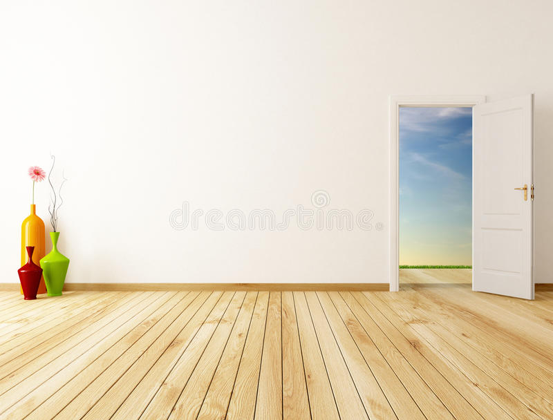 Spring Room Royalty Free Stock Photography