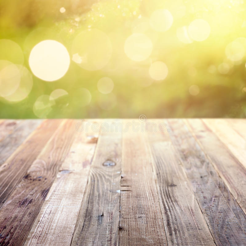 Free Spring Rustic Template Background With Bokeh Stock Images - 43930974