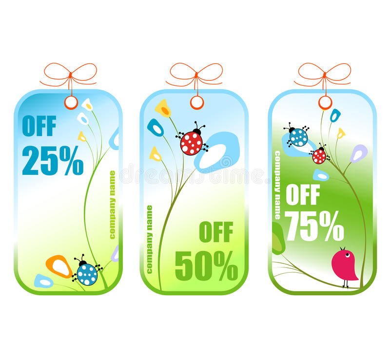 Download Spring sale stock vector. Image of market, season, sale - 13575688