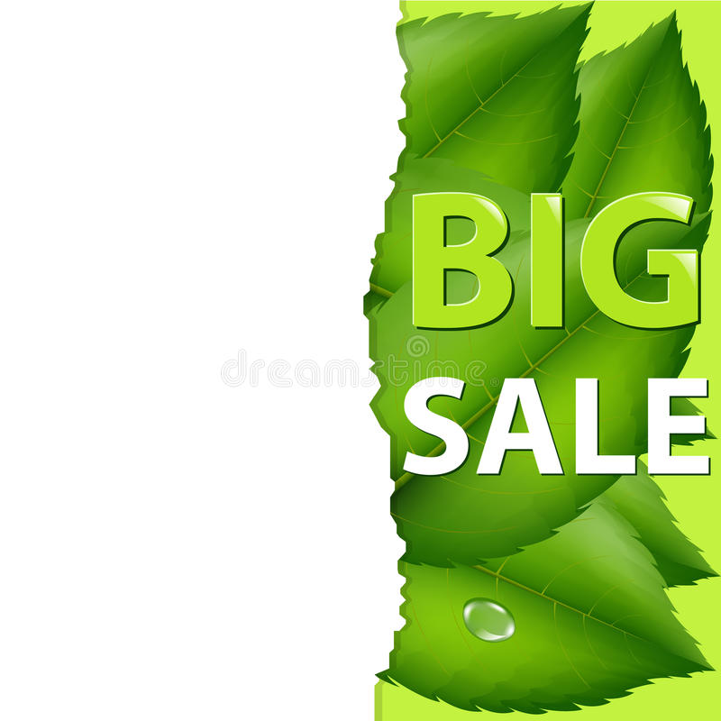 Free Spring Sale Poster Stock Image - 18693271