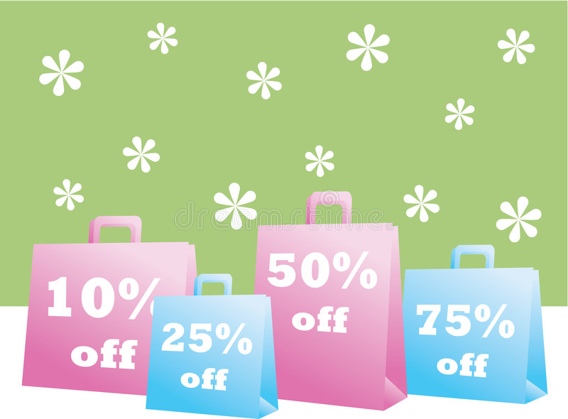 Spring Sale Shopping Bags