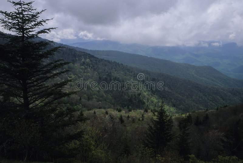 Download Spring Scenic, BR Parkway stock photo. Image of mountains - 45212
