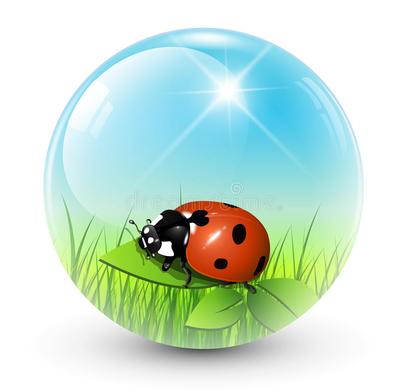 Download Spring Sphere Royalty Free Stock Image - Image: 22731726