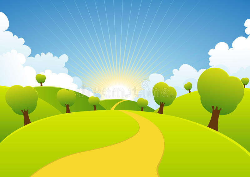 Download Spring Or Summer Seasons Rural Background Royalty Free Stock Photo - Image: 23819895