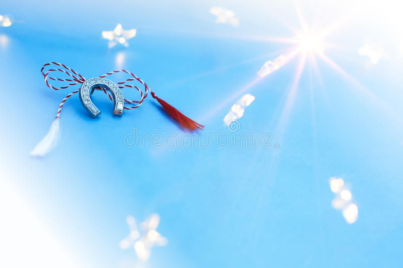 Spring Symbol for Luck stock image