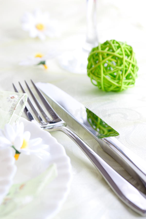 Download Spring table setting stock photo. Image of marriage, dinner - 23876378
