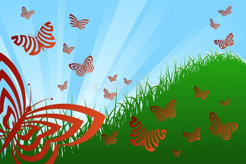 Spring Theme royalty free illustration