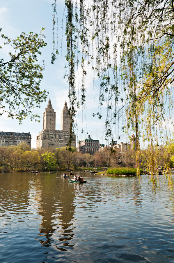 Spring time in Central Park - NYC stock images