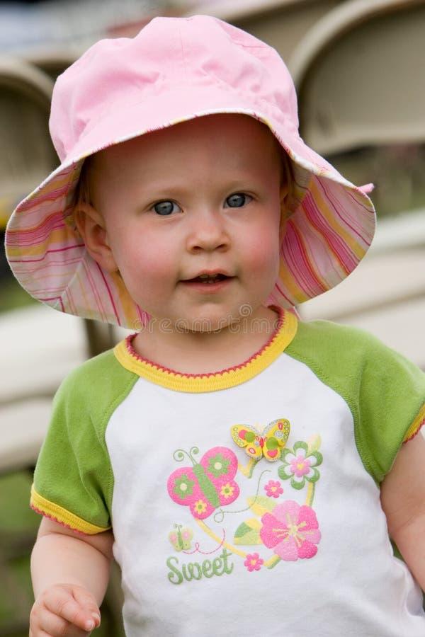 Spring toddler stock photos