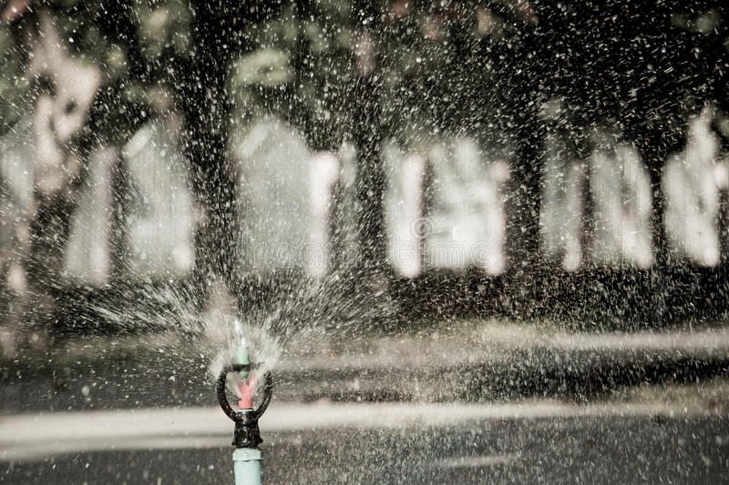 Spring water stock photography