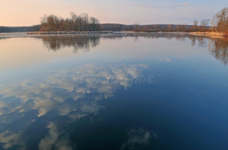 Spring, Whitford Lake Royalty Free Stock Images