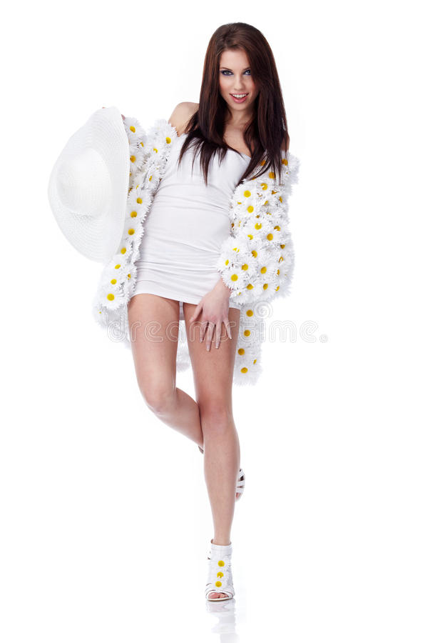 Download Spring woman stock photo. Image of white, woman, fashion - 13641784