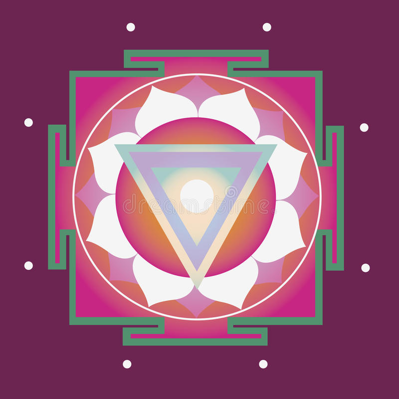 Download Spring yantra for health stock vector. Image of lotus - 29067891