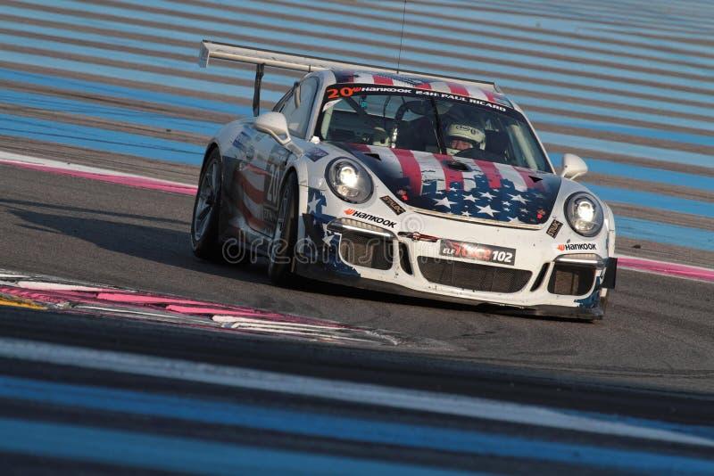 Springa på Paul Ricard Circuit royaltyfri foto