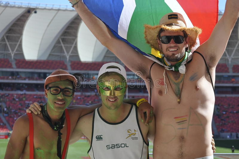Download Springbok supporters editorial image. Image of springbok - 28139115