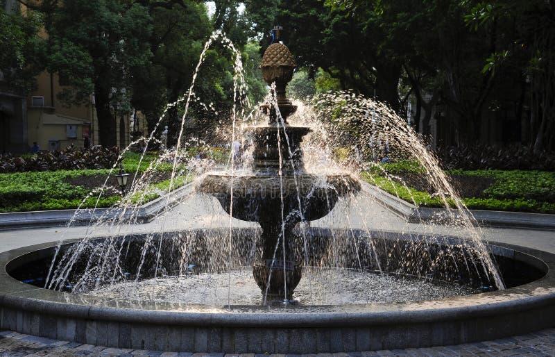 Springbrunn Royaltyfri Bild
