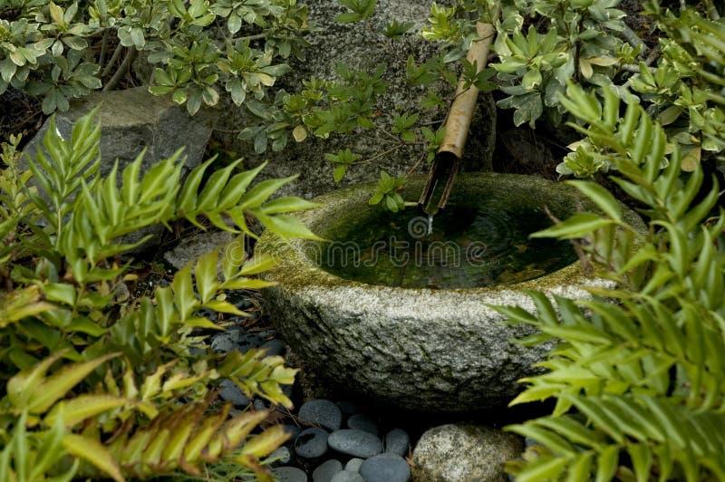 springbrunnjapantsukubai royaltyfria foton