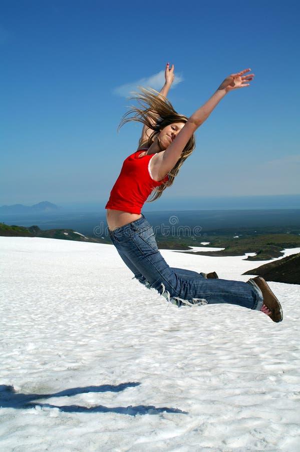 Springen Sie gen Himmel 3. lizenzfreie stockfotos