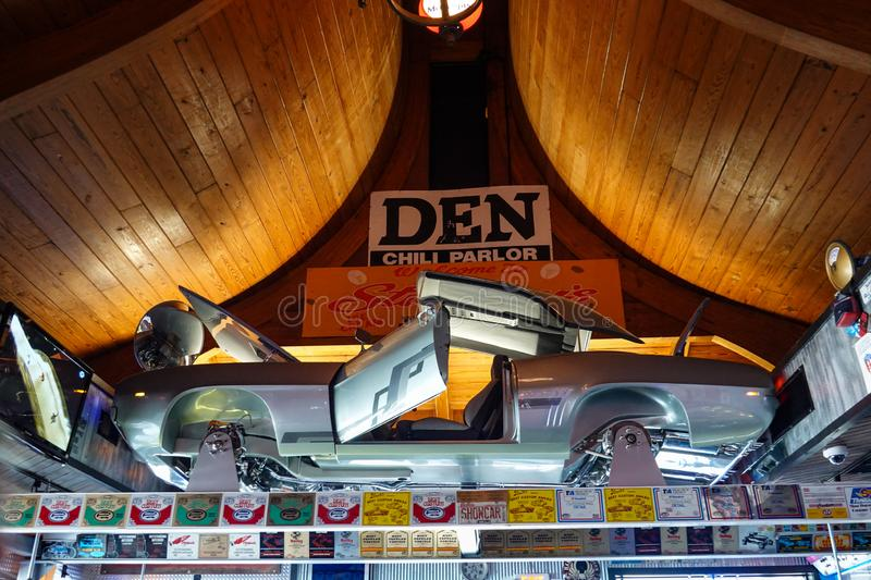 Car Dealerships In Springfield Il >> Motorheads Bar And Restaurant Where The Decor Is Made Up Of