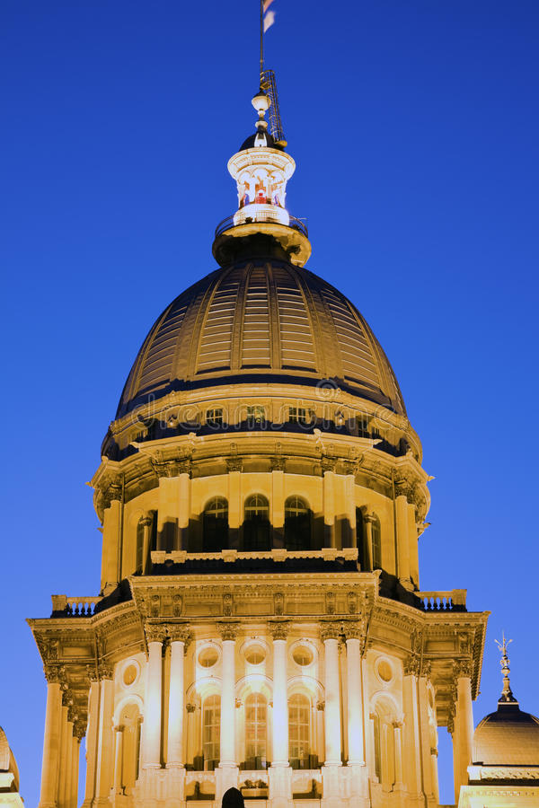 Springfield, Illinois - State Capitol Stock Image