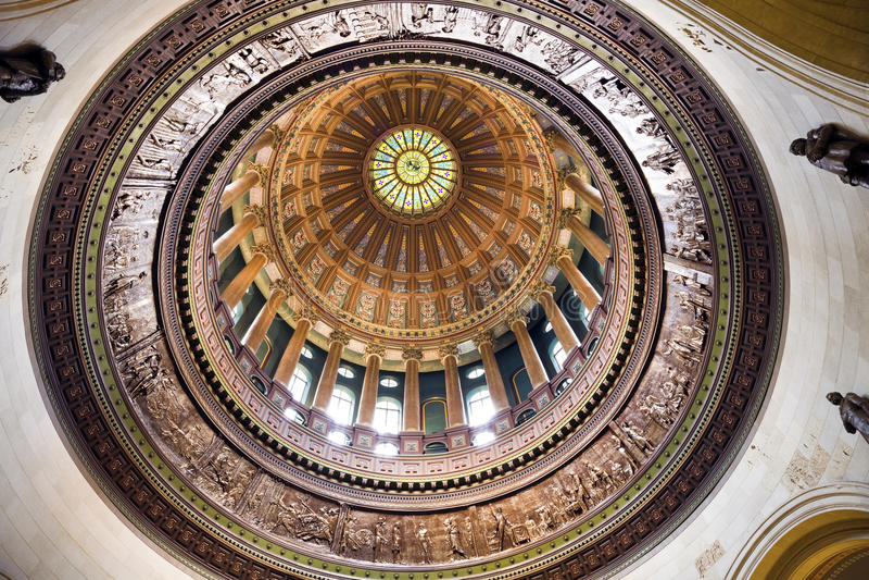 Springfield, l'Illinois - capitol d'état image libre de droits