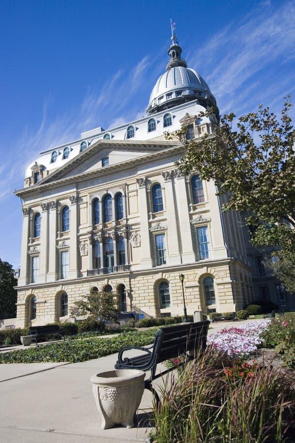 Springfield, stan Illinois kapitolu zdjęcia royalty free