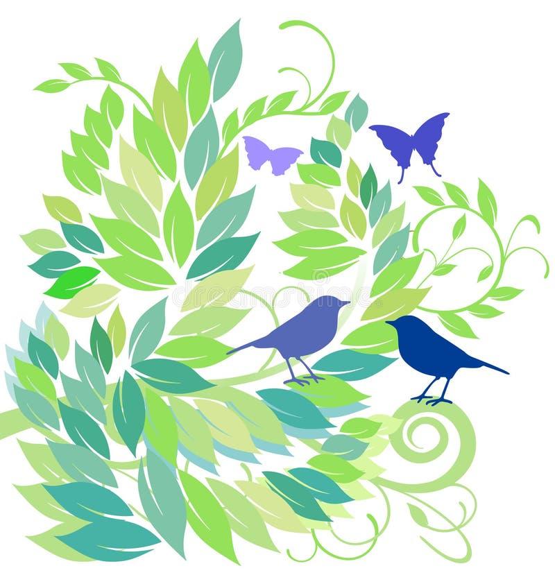 springtime stock illustrationer