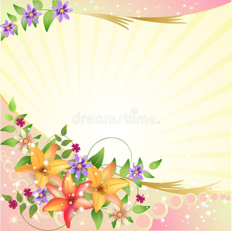 Download Springtime background stock illustration. Image of gradient - 25548046